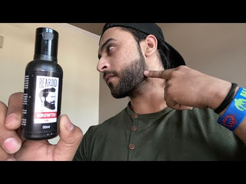 Beardo hair growth oil after 1 month review // best beard oil for patchy beard in India. link ⬇️