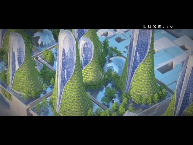ITEM 008936 France Architecture Paris 2050 Vincent Callebaut FR HD