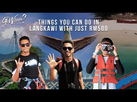 Things To Do In Langkawi With Just RM500 | Presented By Canon