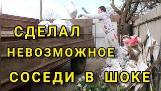 КУПИЛ СТРАШНО УБИТЫЙ ДОМ В ДЕРЕВНЕ #мотивациянауборку #ремонткухни #клумбы #сажаюогород #вдеревню