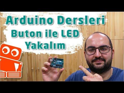 Arduino Buton İle Led Yakma #3