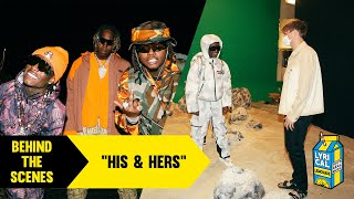 Behind The Scenes of Internet Money's, Don Toliver's, Lil Uzi Vert's, and Gunna's His & Hers Video