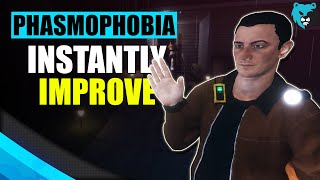 10 Tips to INSTĄNTLY Improve at Phasmophobia - Tips and Tricks