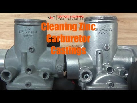 Zinc Carburetor Casting Cleaning & Finishing- Vapor Honing Technologies