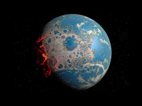 an analysis of 3000 million years ago on the earth The geologic temperature record are changes in earth's  (08 million years ago,  solar luminosity was 30% dimmer when the earth formed 45 billion years ago,.