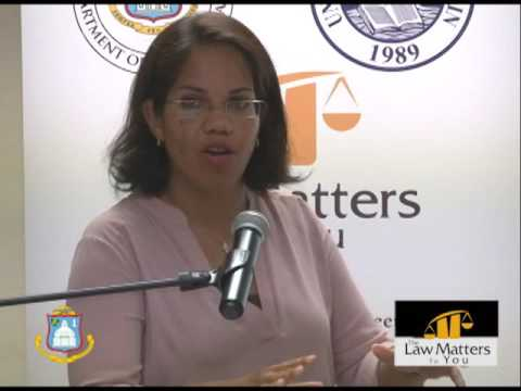 THE LAW MATTERS TO YOU - MEREDITH BOEKHOUDT  PART 3