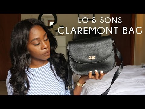LO & SONS | THE CLAREMONT BAG REVIEW
