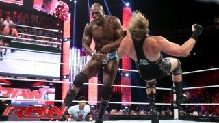 Titus O'Neil vs. Jack Swagger: Raw, August 26, 2013