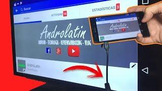 Utilizar Adaptador HDMI MicroUsb en Android