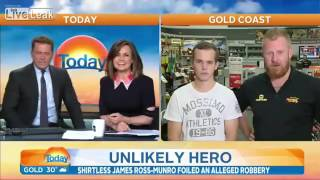 Australia Today Show interview with James and Kane