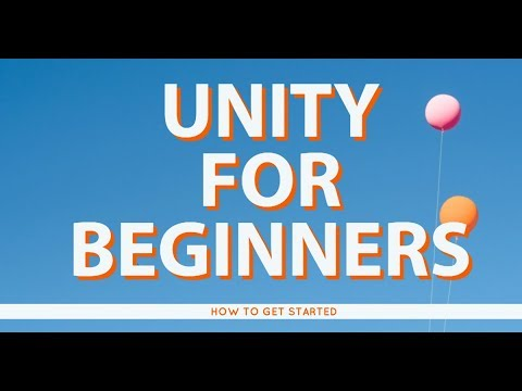 How to get started with Unity3D - For Beginners