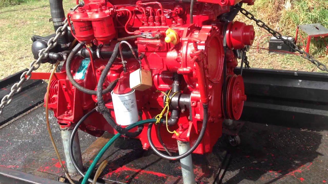 Ford 1989 2722e Sp 90 Hp 4 Cylinder Marine Diesel Engine