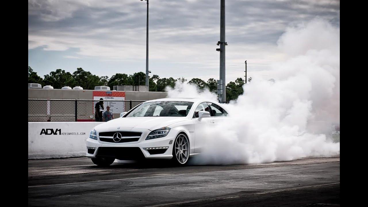 Megaburnout Mercedes Benz Burnout Youtube