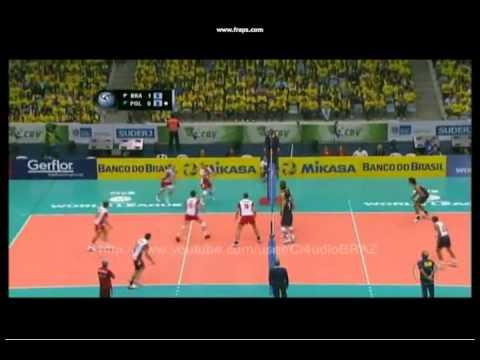 Brazil-Poland nice action!