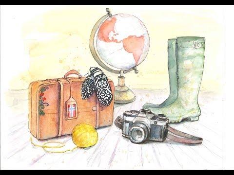 Knitography Vlog Extra! Knitting, Knitting Bag Book KAL, Latvian Mittens