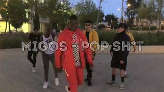 Migos - POP SH*T ( Official Dance Video) @daniel.malah