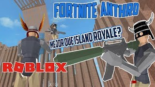 The best FOrtnite for roblox with Anthro avatar? Strucid Review New Roblox Game