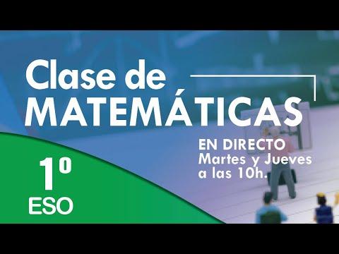 Download Clases de matemáticas 1º ESO