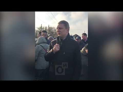 Глава Одинцовского округа Андрей ИВАНОВ встретился с жителями Полушкино