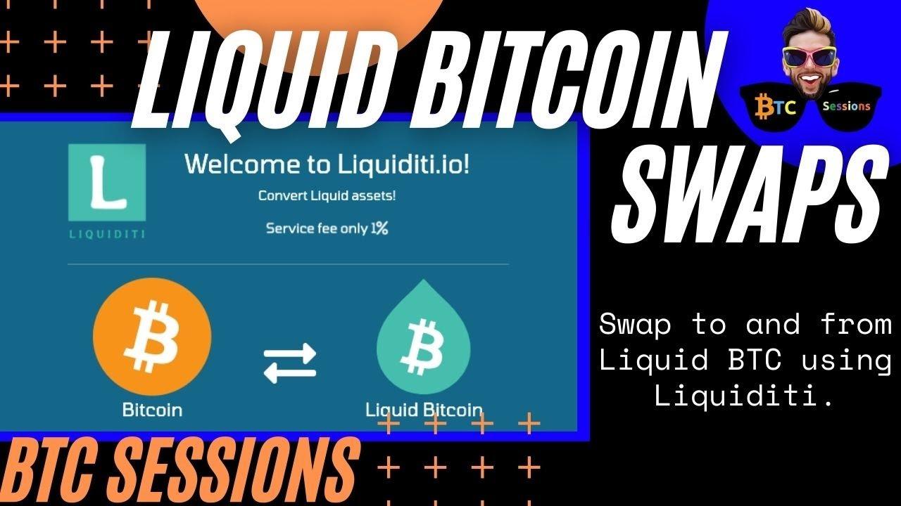 How To Swap Bitcoin and Liquid Bitcoin Using Liquiditi