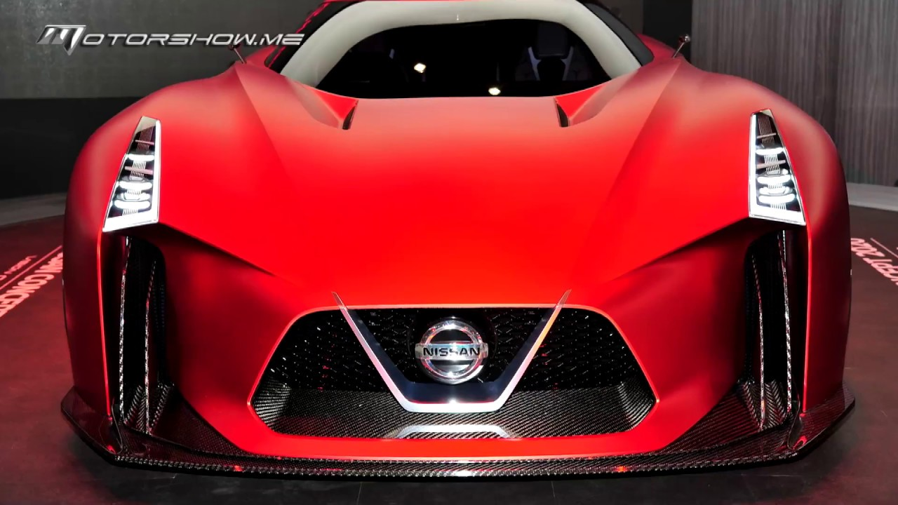 Nissan GT-R 2020 Vision | نيسان جي تي – آر 2020 فيجين ...