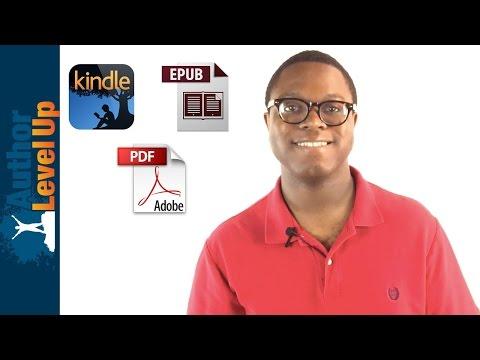 The 3 Major Ebook Formats