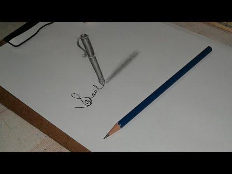 3d pen drawing with pencils   3D Arts