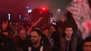 Galatasaray Derbisinden Zaferle Dönen Lider Beşiktaş'a Coşkulu Karşılama