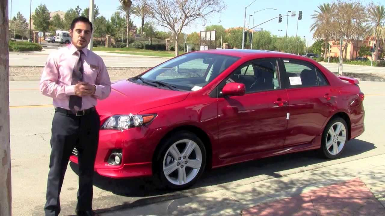 Marvelous 2013 Toyota Corolla Type S At Moss Bros. Toyota   YouTube