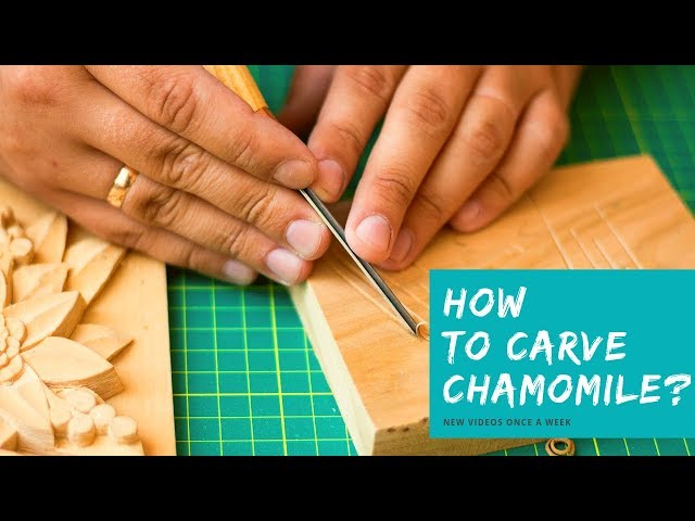 How to Carve a Flower? 🌻 Easy Wood Carving for Beginners I Extended