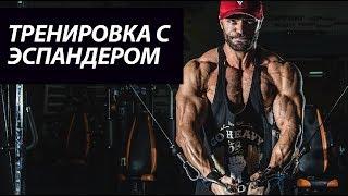 Тренировка с эспандером | Александр Крупнов