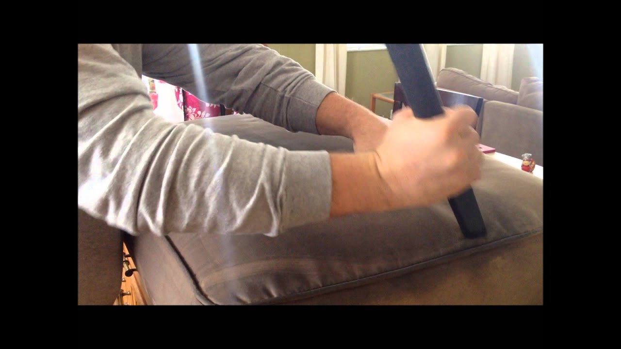 Clean Microfiber Sofa With Vodka Lane Leather Reviews How To A Couch Youtube