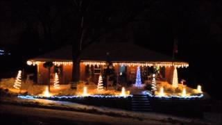 Let It Snow (Dean Martin)  WowLights Contest Video HD