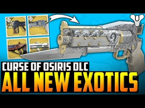Destiny 2 - INSANE NEW EXOTIC WEAPON / ARMOR ORNAMENTS & MORE !!