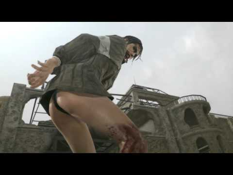 Metal Gear Solid V The Phantom Pain (Лучшая Кат Сцена с Молчуньей)