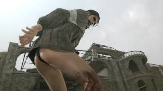 Metal Gear Solid V The Phantom Pain Лучшая Кат Сцена с Молчуньей