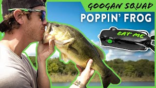 Topwater Popping Frog 101 with LakeForkGuy! | Googan Squad Poppin' Filthy Frog Breakdown