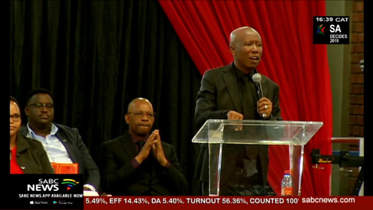 Julius Malema S Grandmother Sarah Malema Is Being Laid To Rest