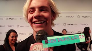 ROSS LYNCH CONGRATULATES LAURA MARANO & TALKS NEW R5 ALBUM AT PALEY CENTER