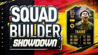 Fifa 20 Squad Builder Showdown!!! ULTIMATE SCREAM ADAMA TRAORE!!! The Best Card On Fifa 20?