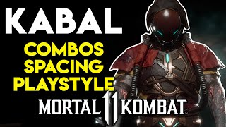 How to Play and Beat Kabal   Kabal Guide Combos, Mix-ups & Custom Moves