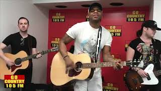 "Jimmie Allen ""Back Of Your Mind,"" ""Blue Jean Baby"" & ""Best Shot"" LIVE"