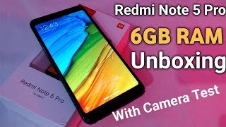 Xiaomi Redmi Note 5 Pro Unboxing (6GB RAM) Full Detailed Review with Camera Test