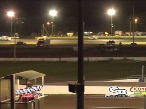 Bridgeport Speedway Highlights 8/2/14