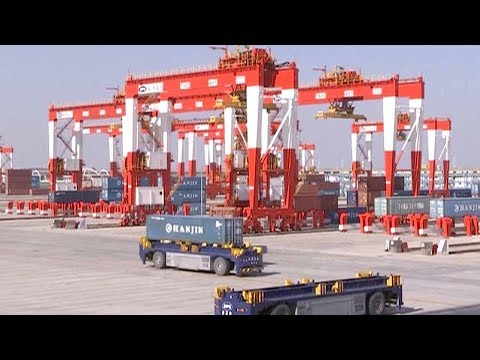 World's largest unmanned port to start operating in Shanghai