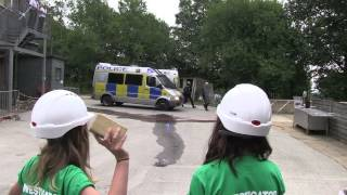 Public order demonstrating brick tactics - Sussex Police People #10dayslive Day 1 thumbnail