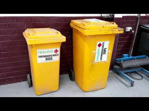 Prescribed industrial wastes