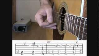Acoustic Blues Techniques - #3 Big Bill Broonzy - Guitar Lesson - Jim Bruce