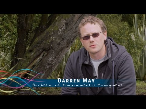 Darren May - Bachelor of Environmental Management