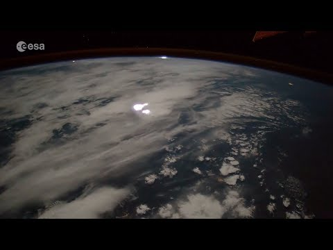 Stunning time-lapse captures 'fireball,' huge lightning storm from space